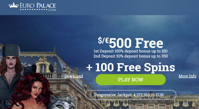 Euro Palace Casino No Deposit Bonus Codes