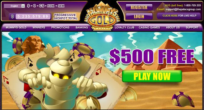 Mummys Gold Casino - Free No Deposit Bonus Codes   Free