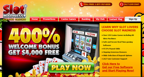 Slots madness no deposit bonus codes