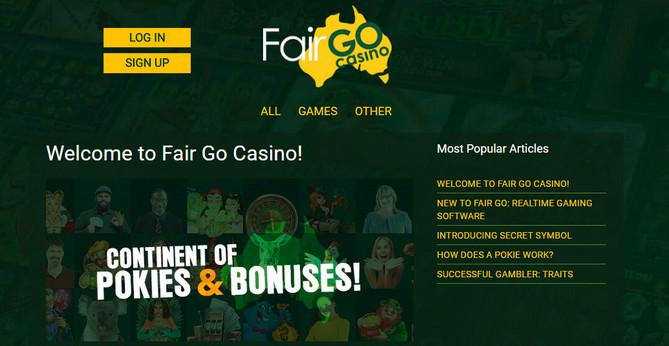 Fair Go Casino Fair Go No Deposit Bonus Codes Free Slots And No Deposit Bonus Codes 2020